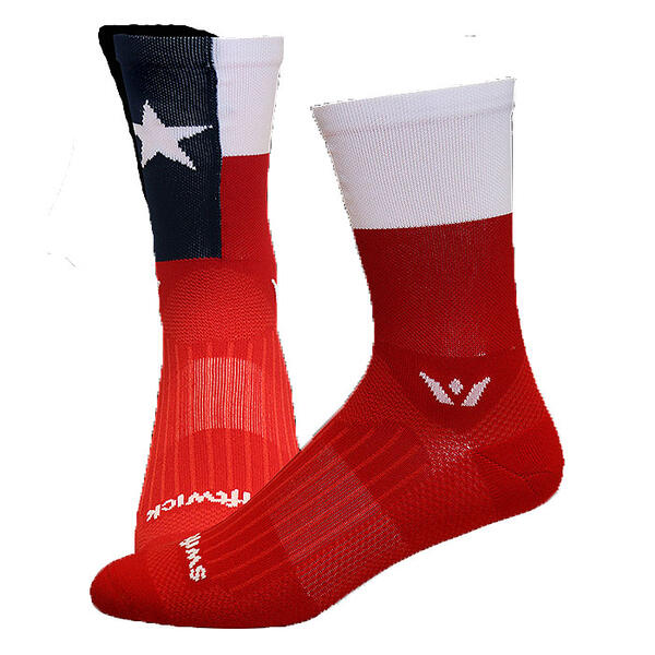 Swiftwick Vision Five Texas Pride Compressi