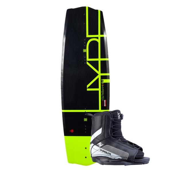 Hyperlite Boy's State 2.0 Jr Wakeboard with Remix Jr Bindings '15