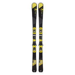 Rossignol Men's Experience 84 Carbon All Mountain Skis with Axial3 120 Bindings '16