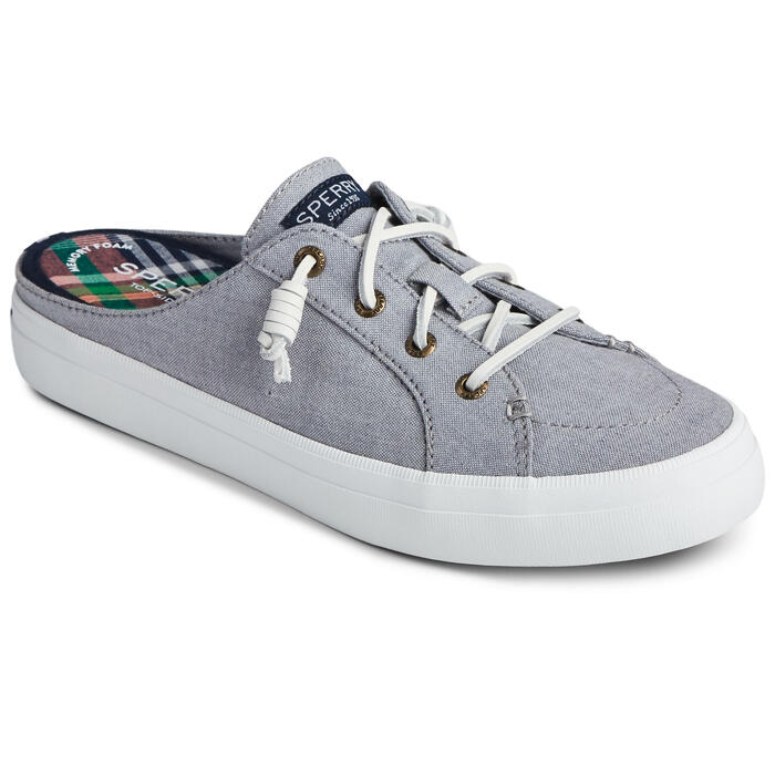 Sperry Women's Crest Vibe Chambray Mule Sho