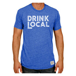 Original Retro Brand Men's Drink Local T Shirt