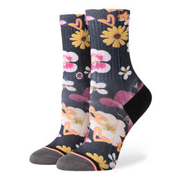 Stance Women's Super Bloom Crew Girls Socks