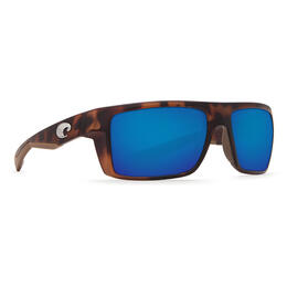 Costa Del Mar Men's Motu Polarized Sunglasses with Blue Mirror Lens