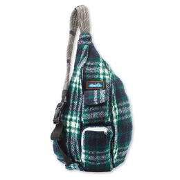 Kavu Women's Plaid Rope Bag Backpack