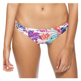 Splendid Women's Full Bloom Reversible Retro Bikini Bottom
