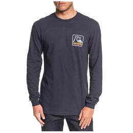 Quiksilver Men's Bubble Buggy Long Sleeve T Shirt