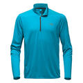 The North Face Men's Versitas 1/4 Zip Long Sleeve Shirt Blue