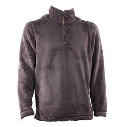 True Grit Men's Pebble Pile 1/4 Zip Pullover Sweater