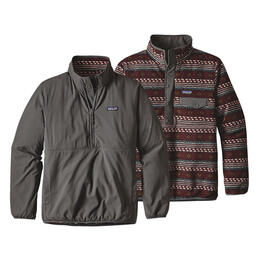 Patagonia Men's Reversible Snap-t Glissade Pull Over