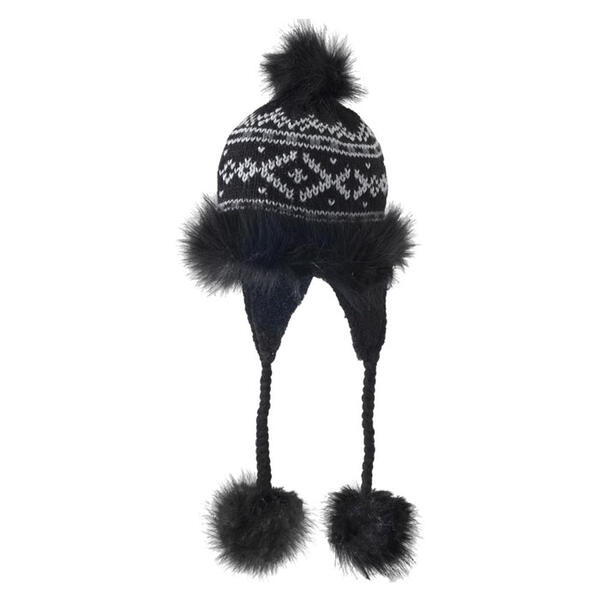 Screamer Women's Cappuccino Faux Fur Hat