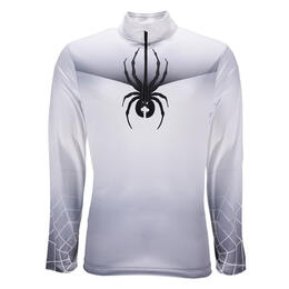 Spyder Men's Limitless Print 1/4 Zip Dry Web T-neck
