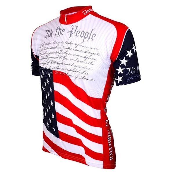 World Jerseys Men's US Constitution Cycling Jersey