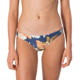 Rip Curl Women's Sunsetters Floral Full Coverage Bikini Bottoms