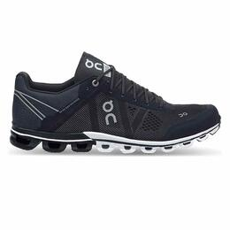 On Men's Cloudflow Running Shoes Black/Asphalt