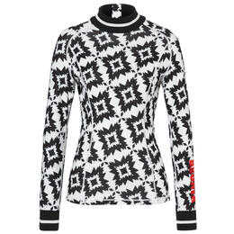 Bogner Women's Madeline Print Fleece Base Layer