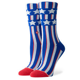 Stance Women's Patriotism Crew Socks