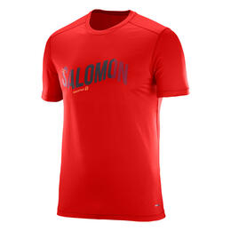 Salomon Men's Cosmic Logo Short Sleeve T Shirt