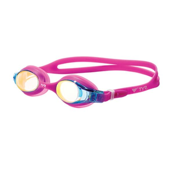 Tyr Kid's Swimple Metallized Goggles