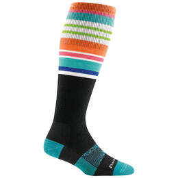 Darn Tough Vermont Women's Glacier Stripe OTC Light Socks