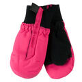 Obermeyer Toddler Girl's Thumbs Up Print Insulated Ski Mitten Pink