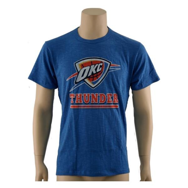47 Brand Men's OKC Thunder Big Logo Tee Shirt