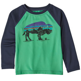 Patagonia Toddler Boys' Baby Capilene Silkweight Long Sleeve Rashguard