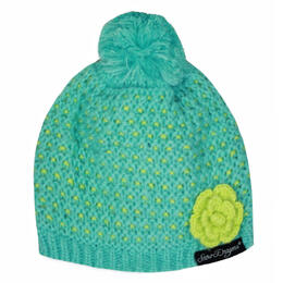 Snow Dragons Toddler Girl's Blossom Beanie