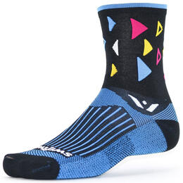 Swiftwick Men's Vision Five Fiesta Cycling Socks