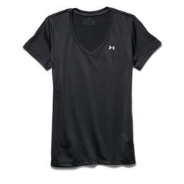Under Armour Women's Tech V-neck Short Sleeve V Neck