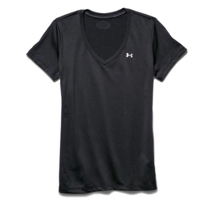 Under Armour Women's Tech V-neck Short Slee