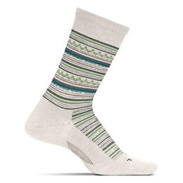 Feetures Women's Santa Fe Crew Ultra Light Socks Natural