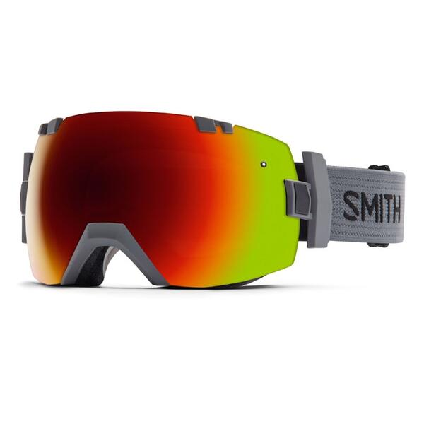 Smith I/O X Snow Goggles With Red Sol X/blue Sensor Lenses