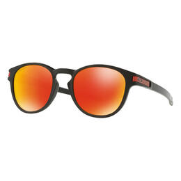 Oakley Latch Sunglasses with PRIZM Ruby Lens