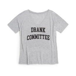 Oil Digger Tees Women's Drank Committee V Neck T Shirt