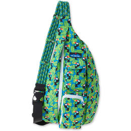 Kavu Rope Bag Backpack Blue Toucan