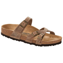 Birkenstock Women's Franca Oiled Leather Sandals