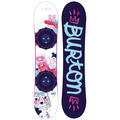 Burton Girl's Chicklet All-Mountain Snowboa