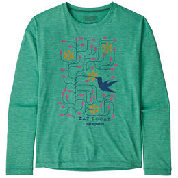Patagonia Girl's Capilene® Cool Daily Long Sleeve Shirt