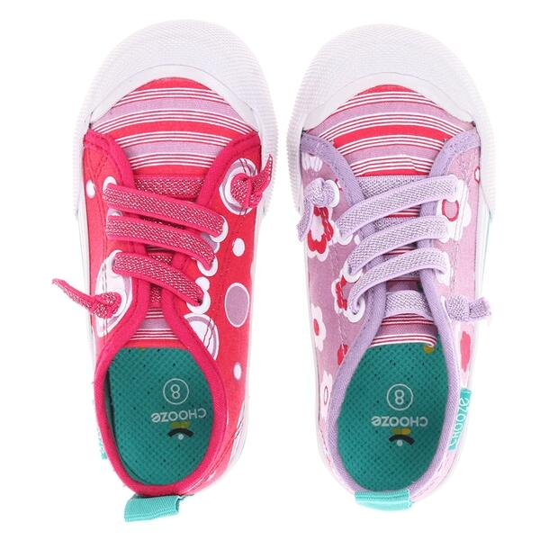 Chooze Toddler Girl's Favorite Purple Passion Sneakers