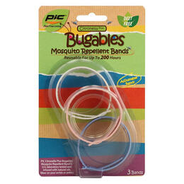 Pic Bugables Citronella Mosquito Repellent Band 3-pack