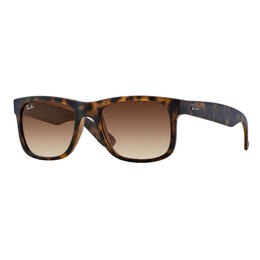 Ray-Ban Justin Classic Sunglasses With Brown Gradient Lenses