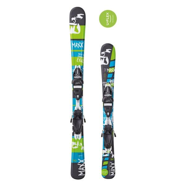 Elan Youth Maxx QT Skis with QT EL 7.5 Bindings '15