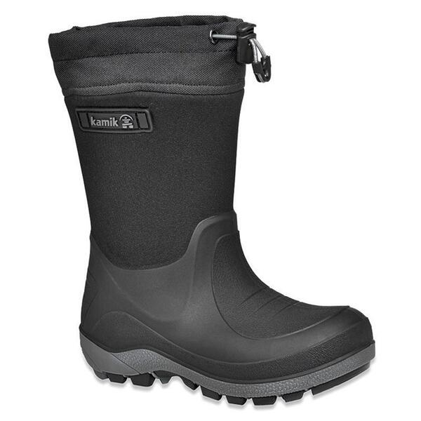 Kamik Youth Stormin Waterproof Rubber Winter Boots
