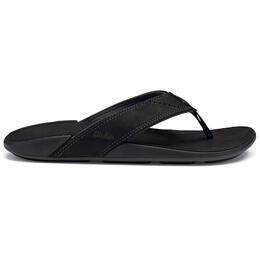 Olukai Men's Nui Casual Sandals Onyx