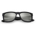 Ray-Ban Justin Classic Sunglasses With Grey