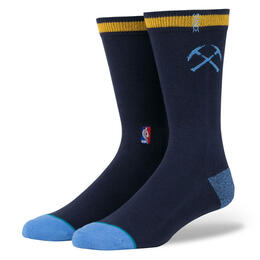 Stance Men's Nuggets Casual Logo Socks