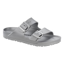 Birkenstock Women's Arizona Essentials Casual Sandals Silver