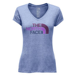 The North Face Women's Half Dome V-neck Tri Blend T-shirt