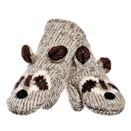 Knitwits Robbie The Racoon Mittens