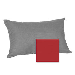 Casual Cushion Corp. 22x15 Lumbar Throw Pillow - Hot Shot Red